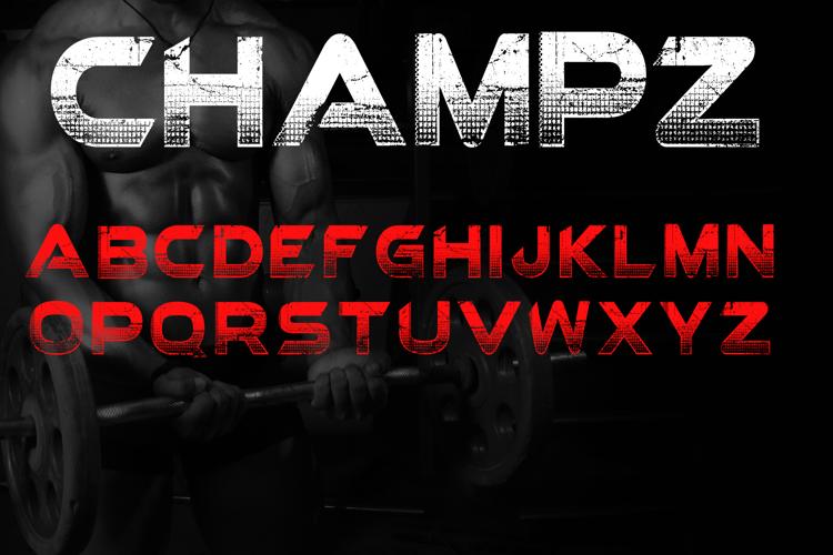 Champz Font