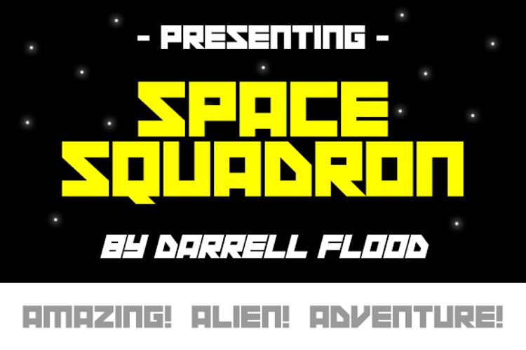 Space Squadron Font