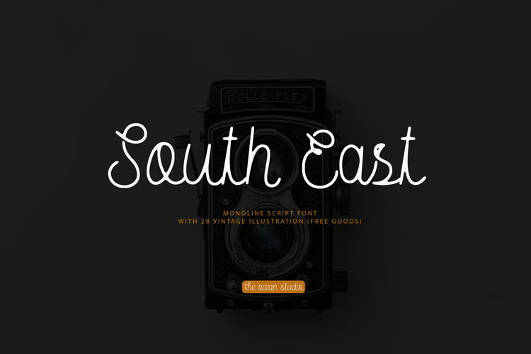 South East Free Rough Font
