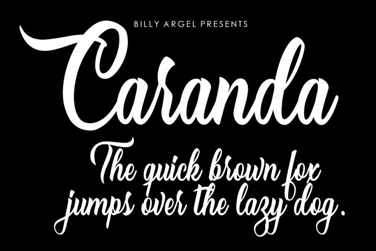 Caranda Font