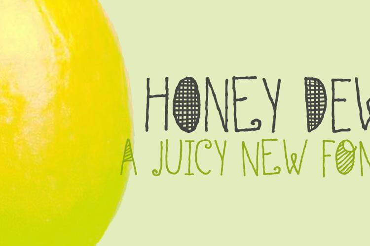 DK Honey Dew Font