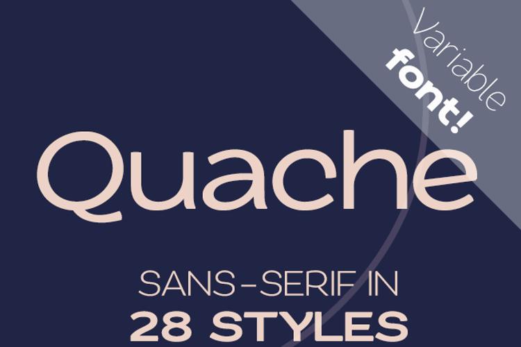 Quache Font