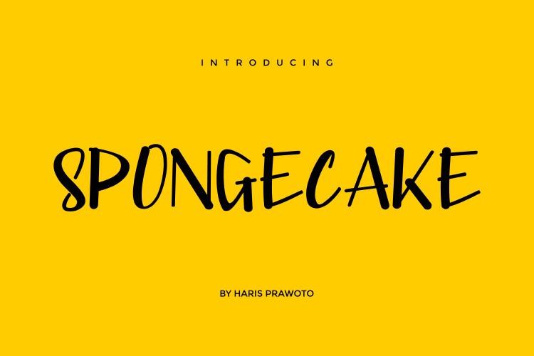 SPONGECAKE Font