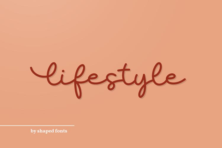 Lifestyle Font