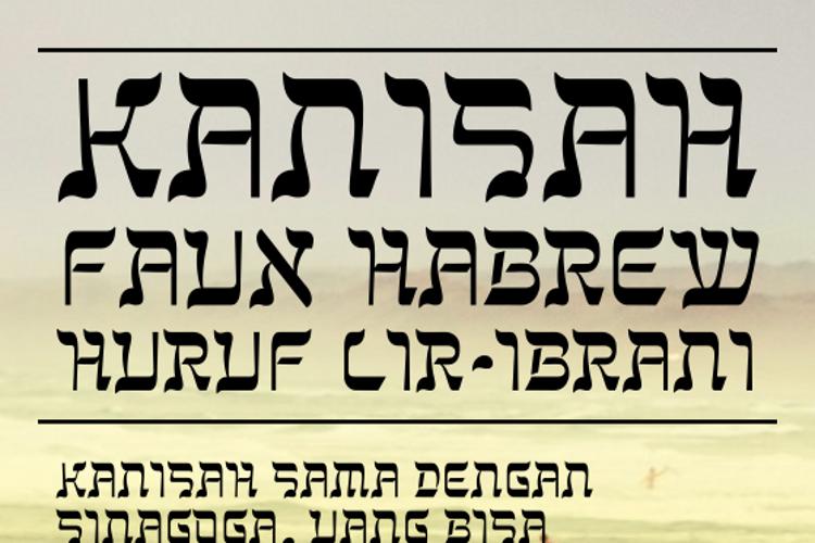 Kanisah Font