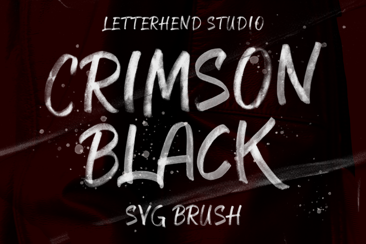 Crimson Black Font