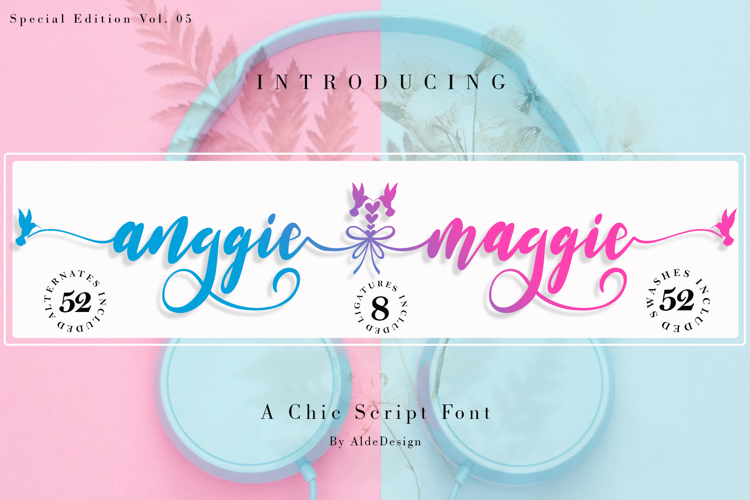 Anggie Maggie Font
