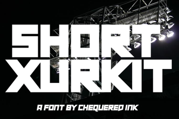 Short Xurkit Font