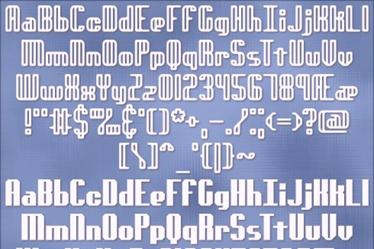genotype BRK Font