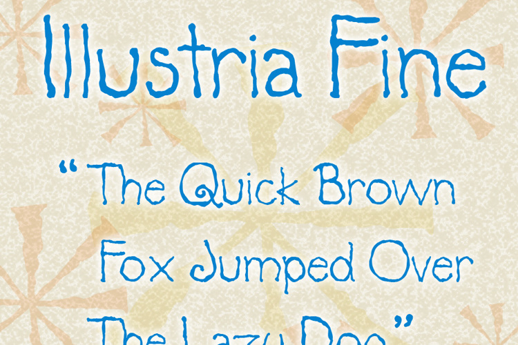 Illustria Font