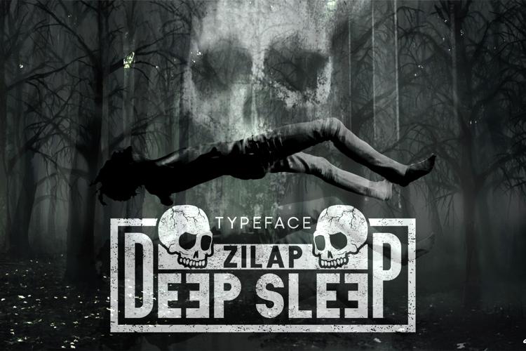 Zilap Sleep Font