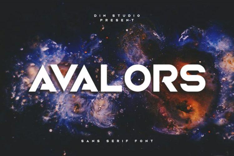 Avalors Font