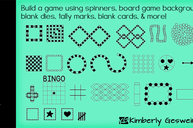 KG Build A Game Font