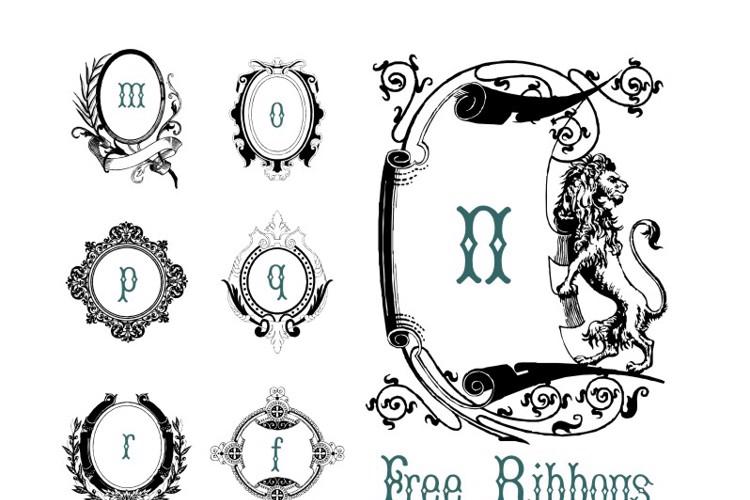 FreeRibbons Font