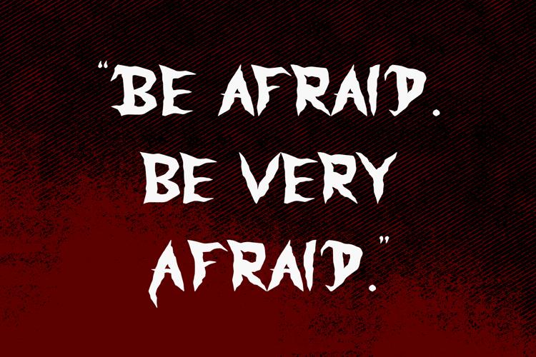 Monster Scream Font