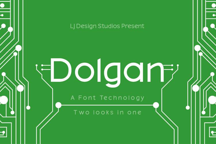 Dolgan Font