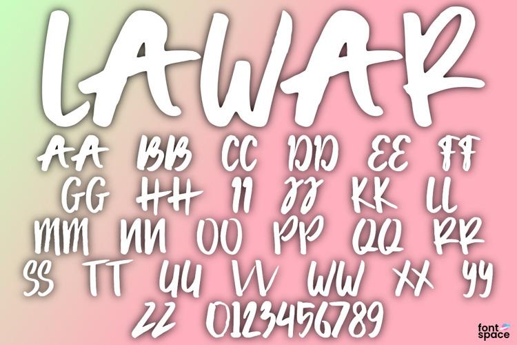 Lawar Font