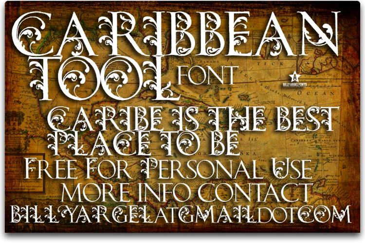 CARIBBEAN TOOL Font