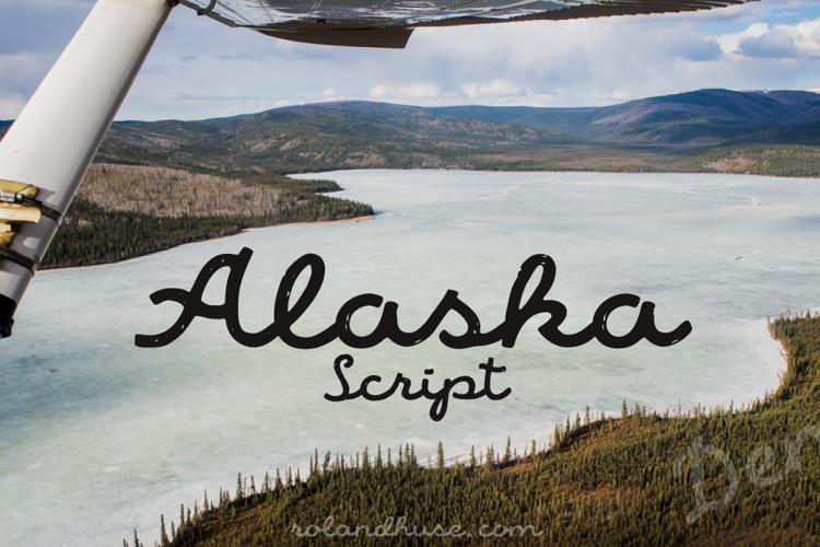 Alaska Script Font