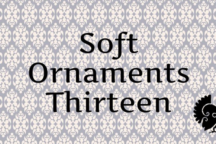 Soft Ornaments Thirteen Font