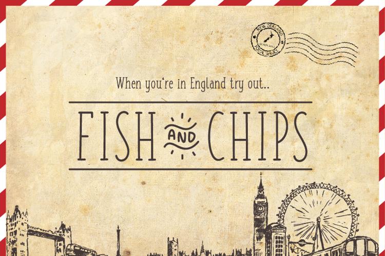 FISH & CHIPS Font