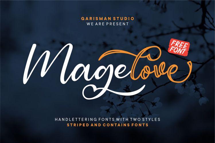 Magelove Font
