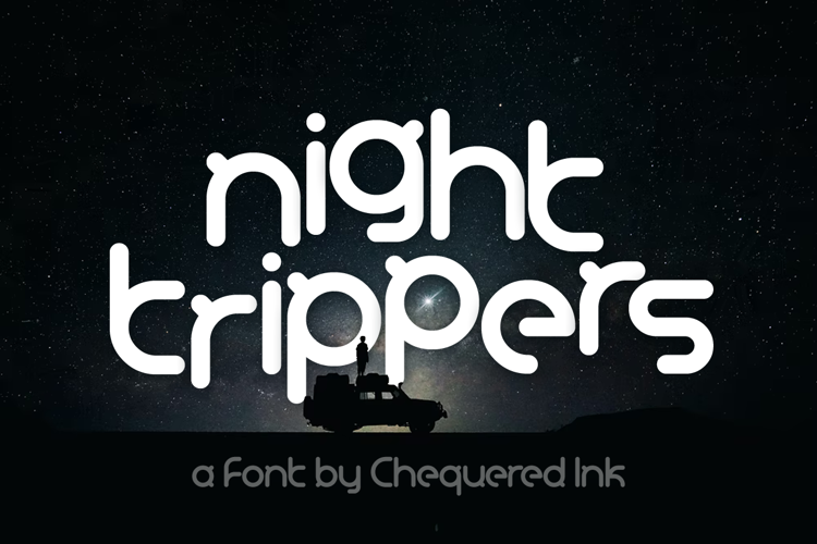 Night Trippers Font