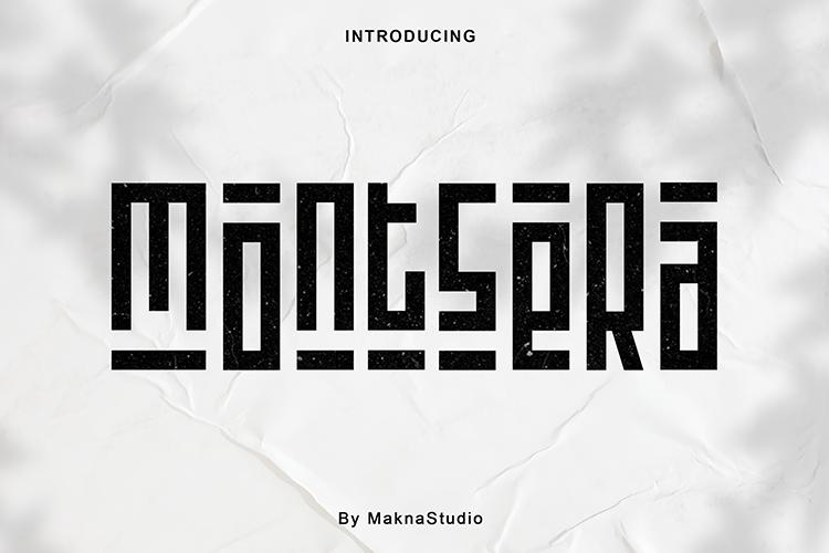 montsera Font