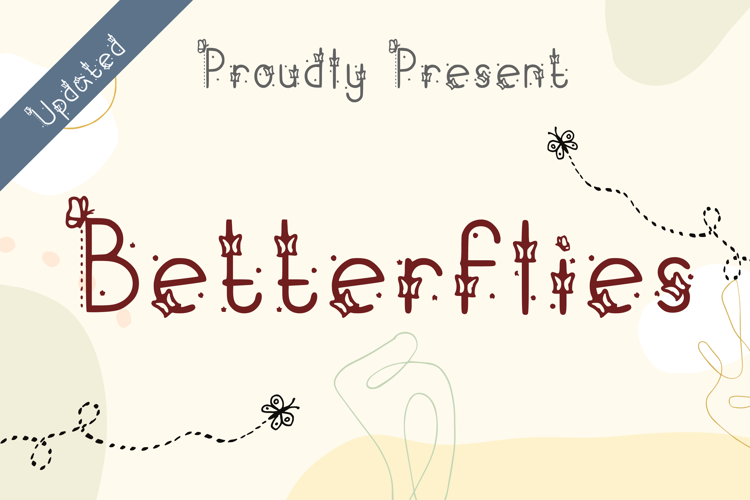 Betterflies 20 Font