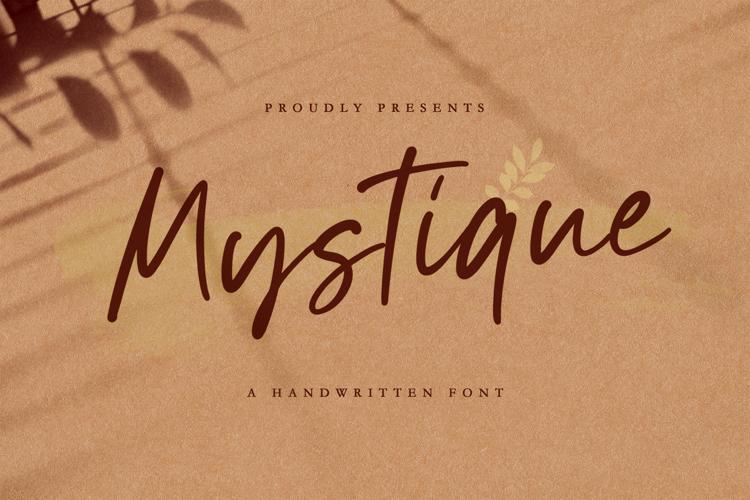 Mystique Font