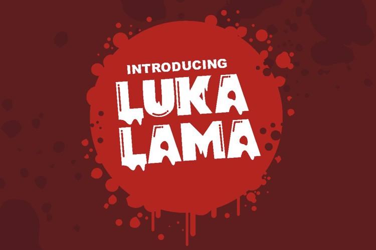 Lukalama Font