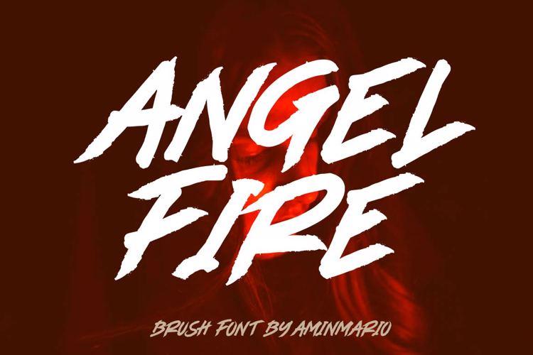 ANGEL FIRE Font