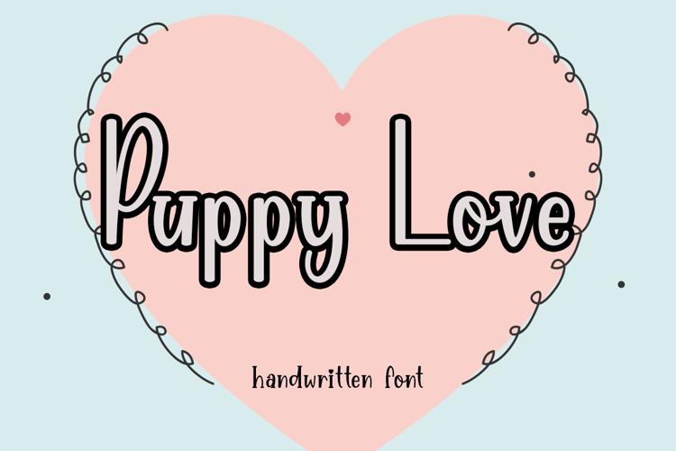 Puppy Love Font