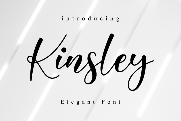 Kinsley Font