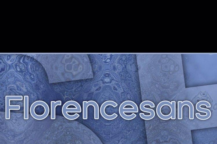 SF Florencesans Font