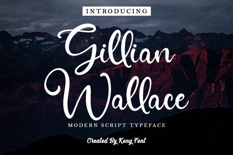 Gillian Wallace Font