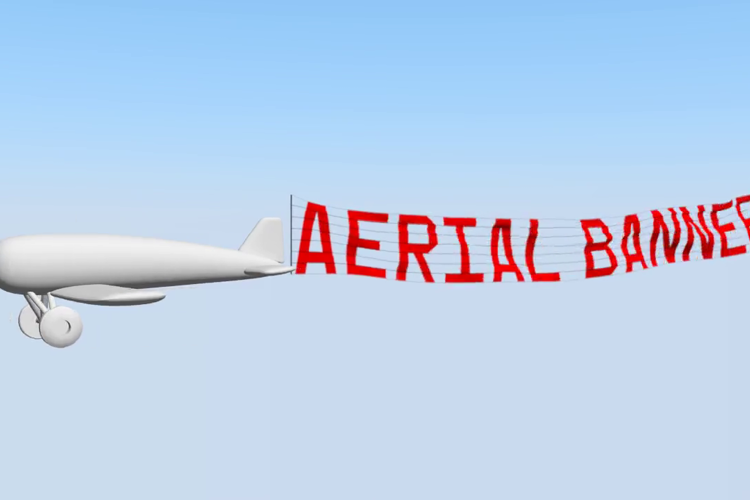 Aerial Banner Font