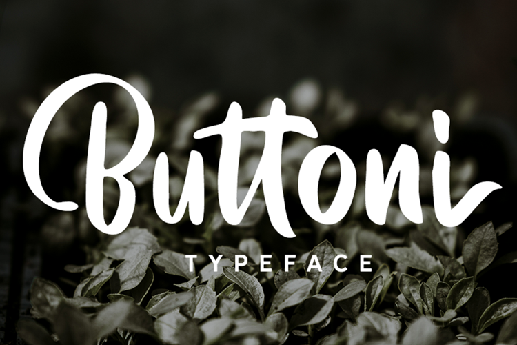 Buttoni DEMO Font