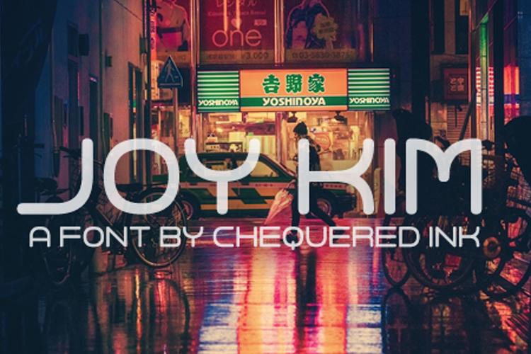 Joy Kim Font