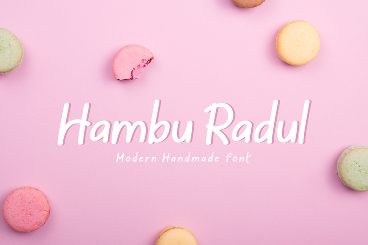Hambu Radul Font