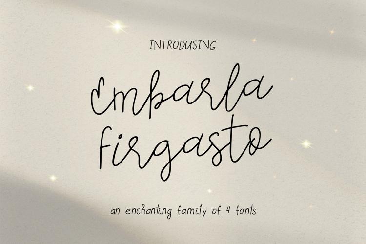 Embarla Firgasto Font