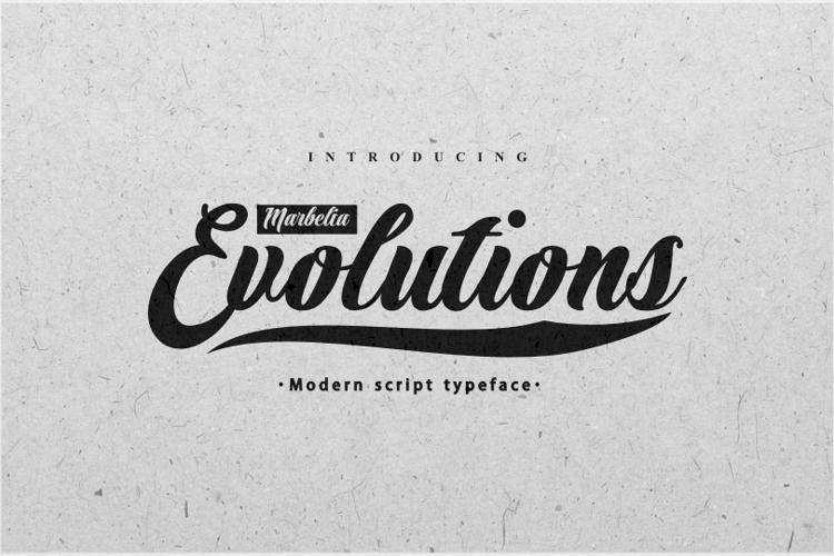Marbelia Evolutions Font