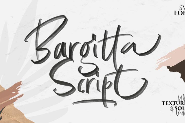 Bargitta Solid Font