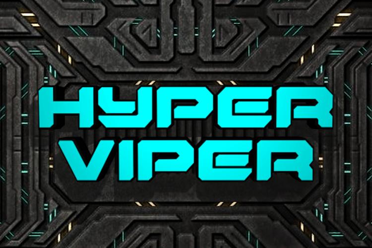 Hyper Viper Font