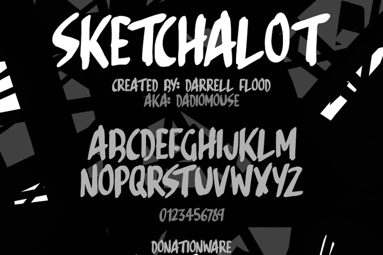 Sketchalot Font