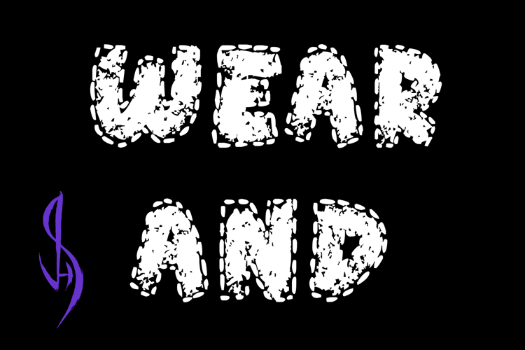 Wear and Tear Font