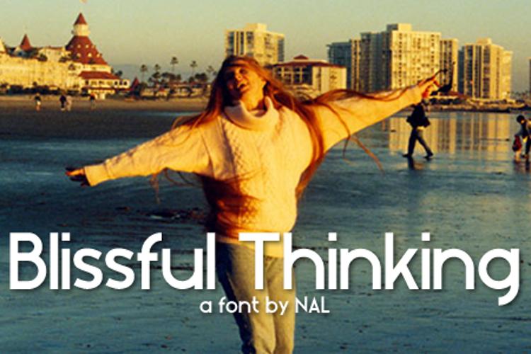 Blissful Thinking Font