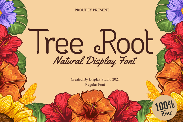 Tree Root Font