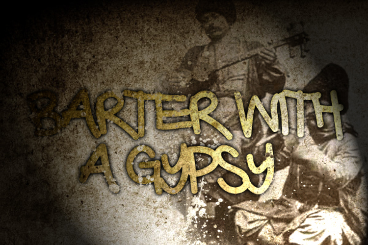 Barter with a Gypsy Font