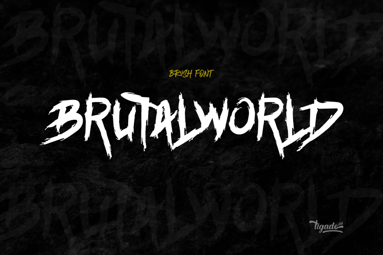 Brutalworld Font